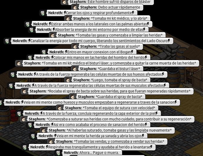 [Roleo de Arkania] Ayuda médica [Apoyo médico] Nekret19