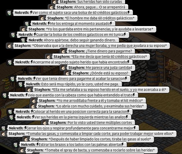[Roleo de Arkania] Ayuda médica [Apoyo médico] Nekret21