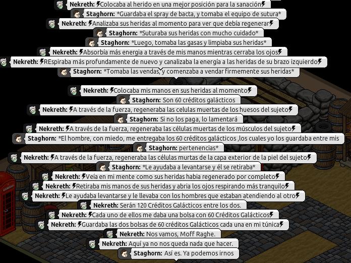 [Roleo de Arkania] Ayuda médica [Apoyo médico] Nekret25