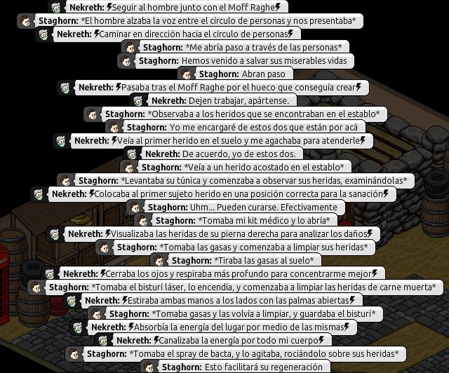 [Roleo de Arkania] Ayuda médica [Apoyo médico] Nekret27