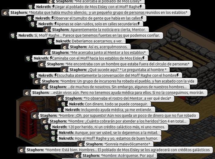 [Roleo de Arkania] Ayuda médica [Apoyo médico] Nekret28