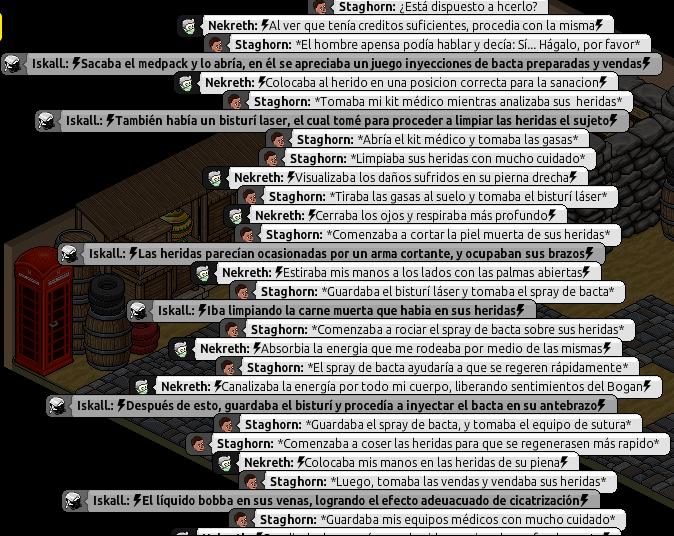 [Roleo de Arkania] Ayuda médica [Apoyo médico] Ni411