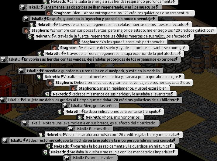 [Roleo de Arkania] Ayuda médica [Apoyo médico] Ni511