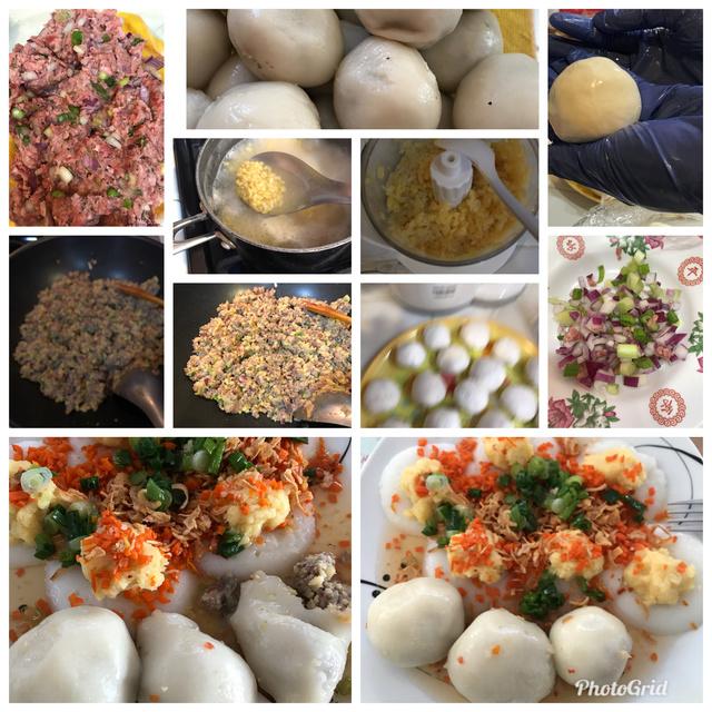 Sticky Rice Dumpling aka Banh It Tran  41537910