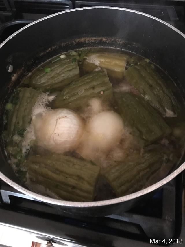 Stuffed Bitter Melon Soup aka Kho Qua  5bebaf10