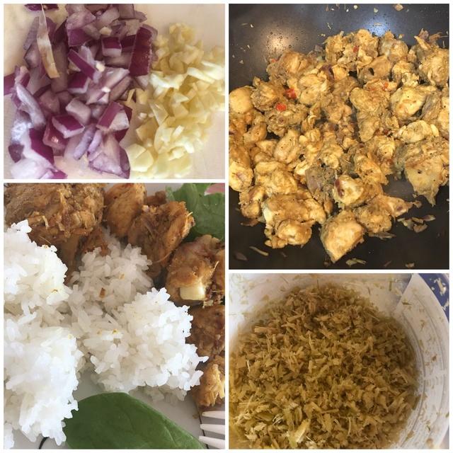 Stir Fry Curry lemongrass  Chicken with Hot Chili aka Ca Ri Ga Xao Xa Ot 757e5e10