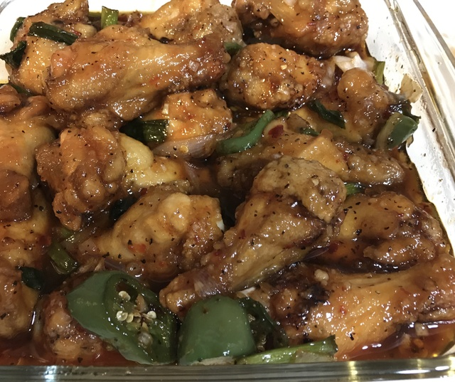 Fried Fish Sauce  Chicken Wings  aka Canh Ga Chien Nuoc Mam D8a2c510