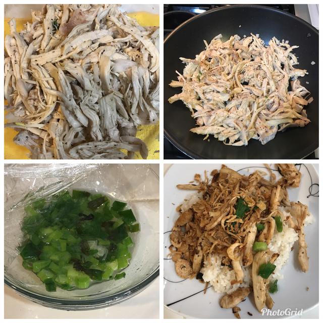 Xoi  Ga aka Chicken Sticky Rice Dcd3da10