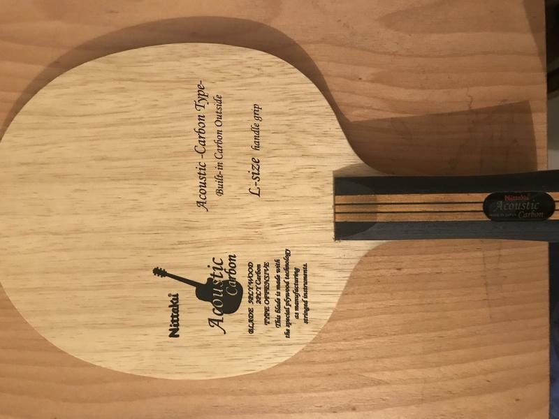 VENDU acoustic carbon concave large handle état neuf 120€ Cf170010