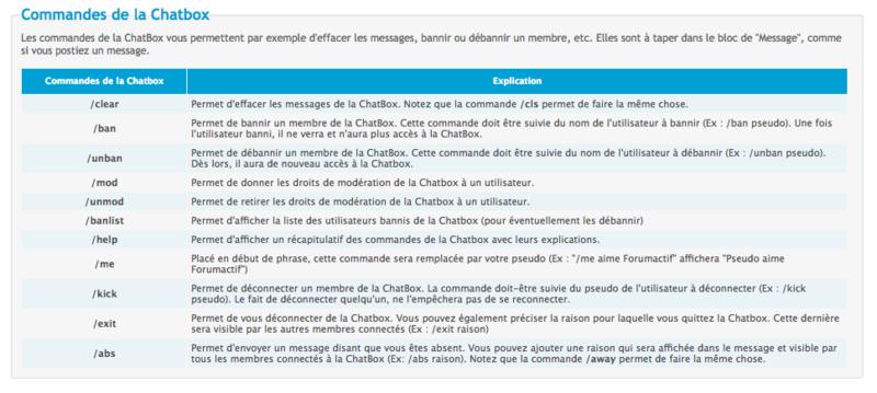 Chatbox sur le forum Captur10