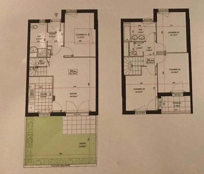 conseil aménagement maison vente sur plan de 88m2 Plan210