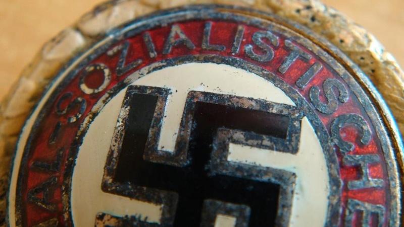 Authentification pin's NSDAP en or 34d6cb12