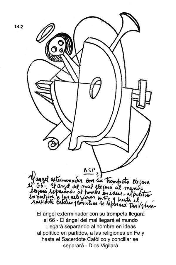 Calendario de las revelaciones de Parravicini Elange10