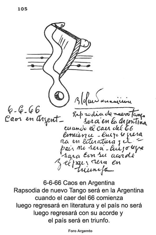Calendario de las revelaciones de Parravicini Rapsod10