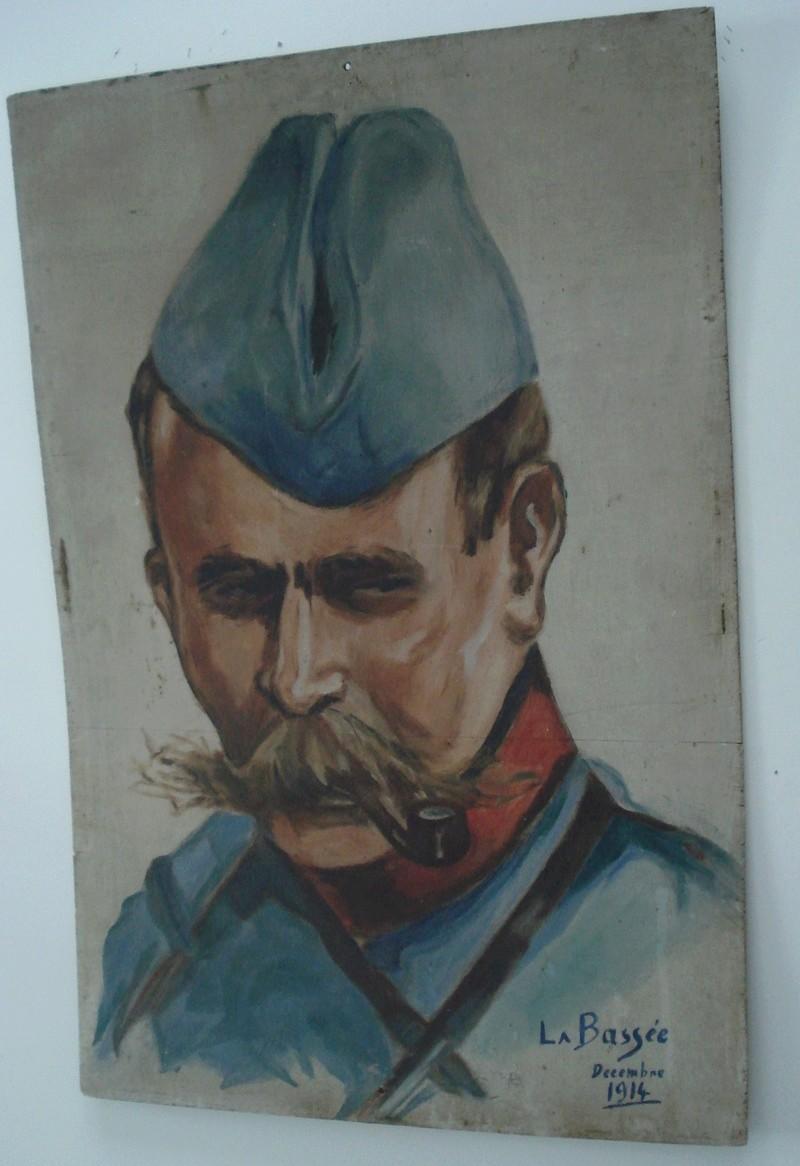 Deux portraits de militaire Soldat10