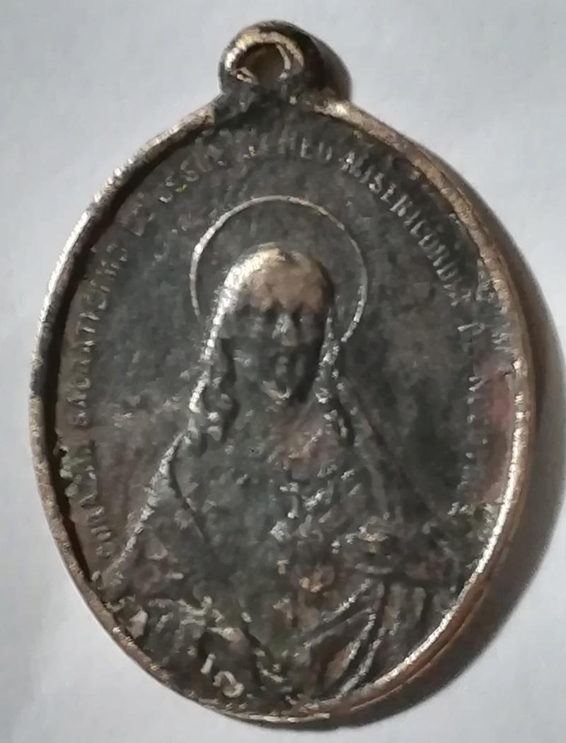Medalla de los Sagrados Corazones -s. XIX Medall17