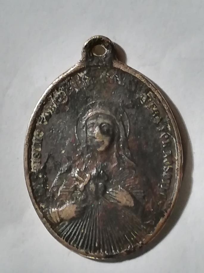 Medalla de los Sagrados Corazones -s. XIX Medall18