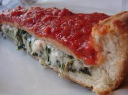 Deep Dish stuffed pizza chicago.  Images11