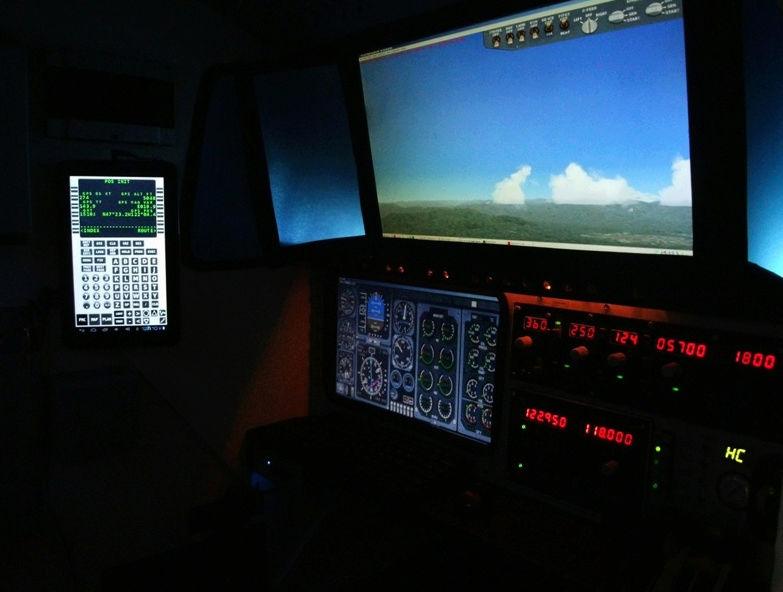 Depois do Simulador HC1, HC2 e HC3... Agora vem o HC4! Estou de volta!  Snapsh15