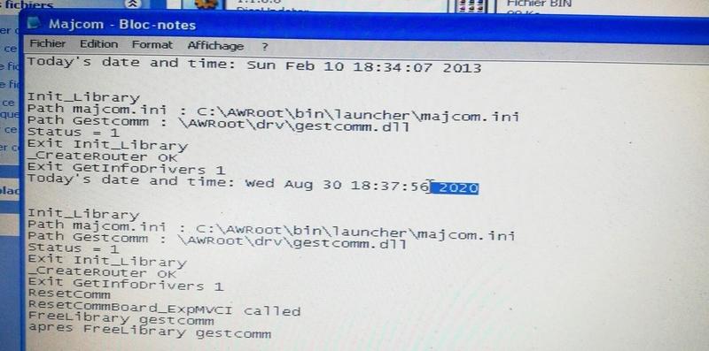 suppression des demande de mise a jour diagbox  Mmscam14