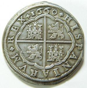 8 Reales Felipe IV 1660 110