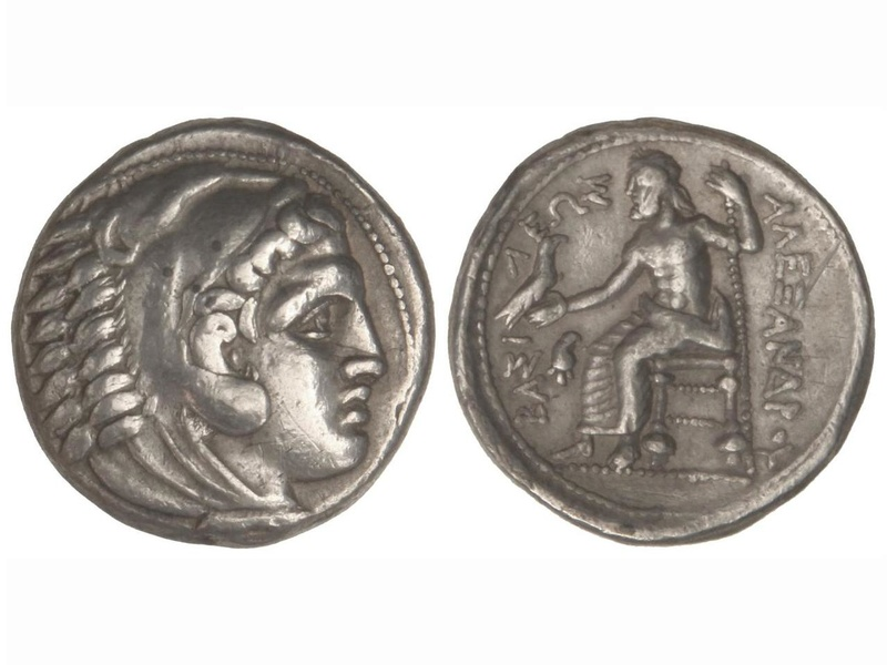 Tetradracma de Alejandro Magno. ¿Comprar en subasta 2008q10