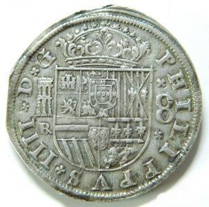8 Reales Felipe IV 1660 210