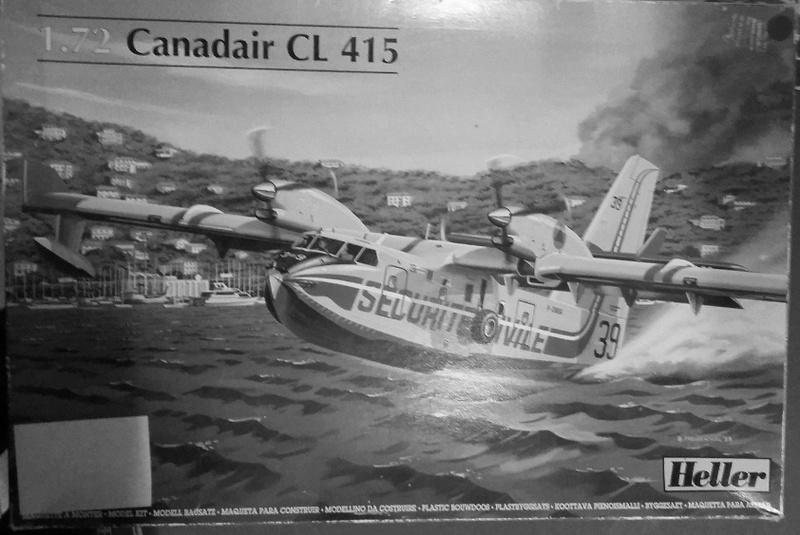 CANADAIR CL 415 1/72 Réf 80370 Canada11