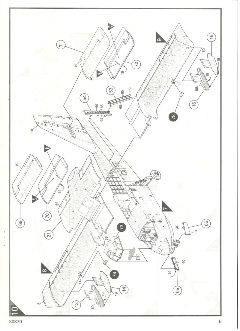 CANADAIR CL 415 1/72 Réf 80370 Heller16