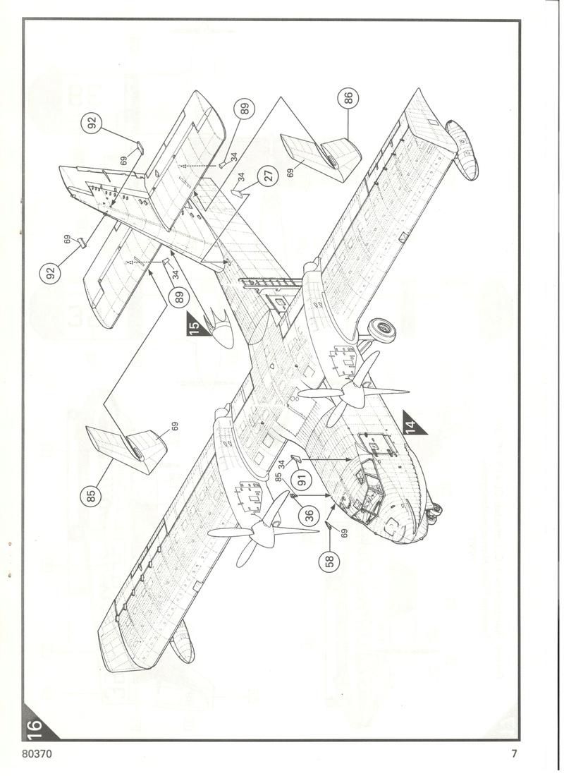 CANADAIR CL 415 1/72 Réf 80370 Heller18