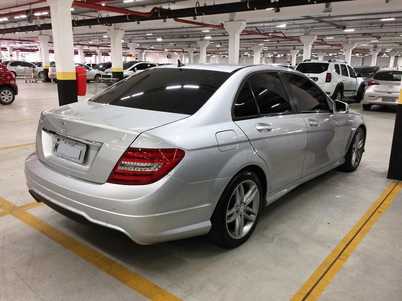 Mercedes-benz C-180 0) Sport 1.6 Turbo, 22.500 Km, Revisões em dia, 2º Dono, Cópia NF - 2013 - VENDIDO Img_6412