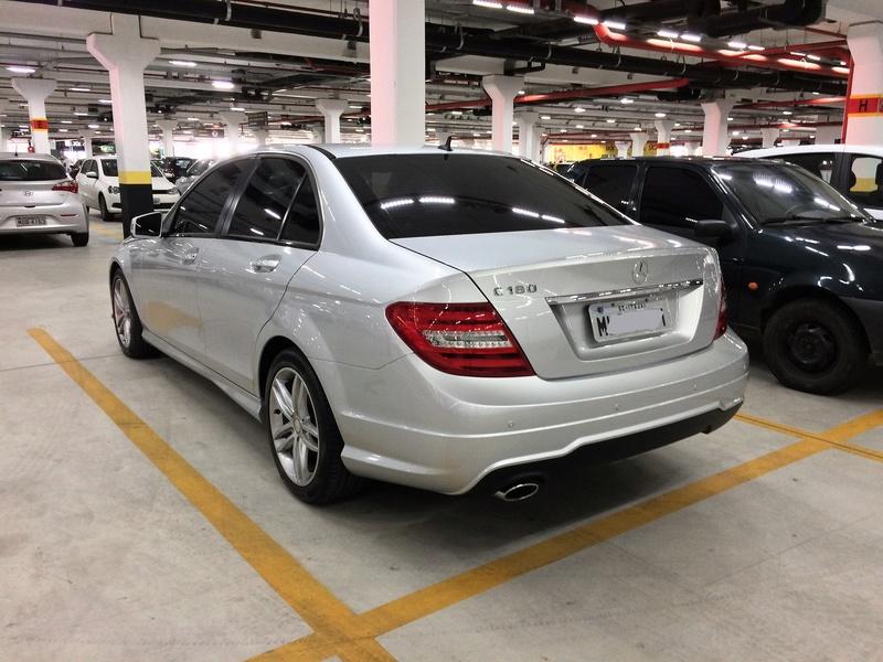 Mercedes-benz C-180 0) Sport 1.6 Turbo, 22.500 Km, Revisões em dia, 2º Dono, Cópia NF - 2013 - VENDIDO Img_6413