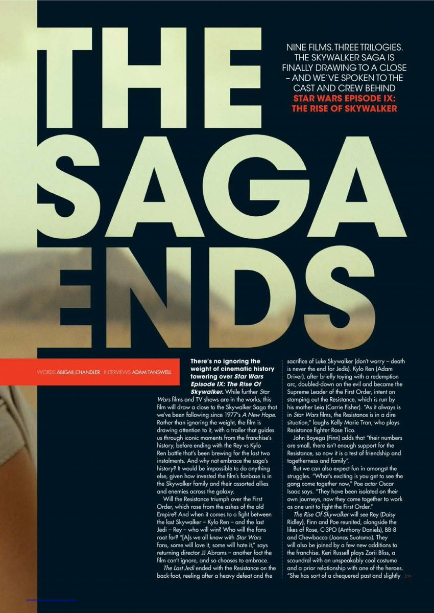 Episode IX: The Rise of Skywalker Press Tour & Interviews - Page 11 Eju6o510