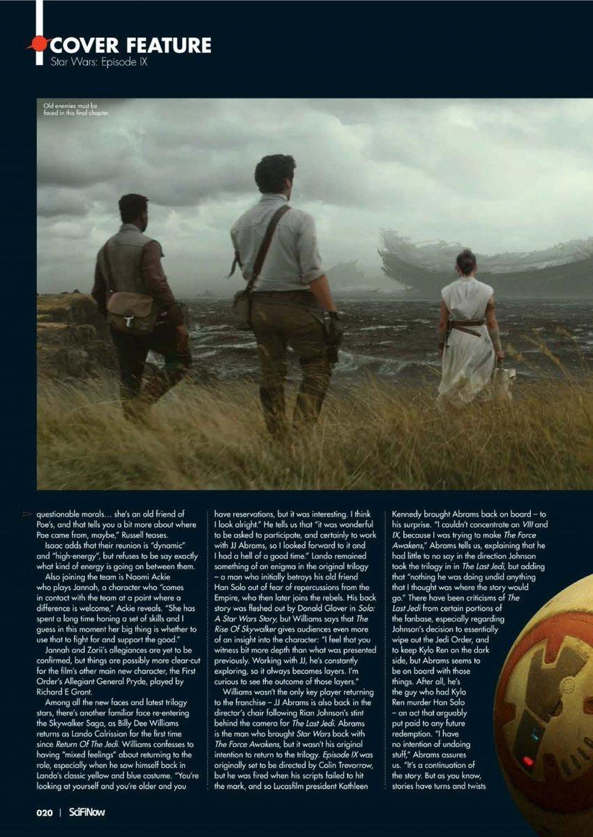 Episode IX: The Rise of Skywalker Press Tour & Interviews - Page 11 Eju6o511