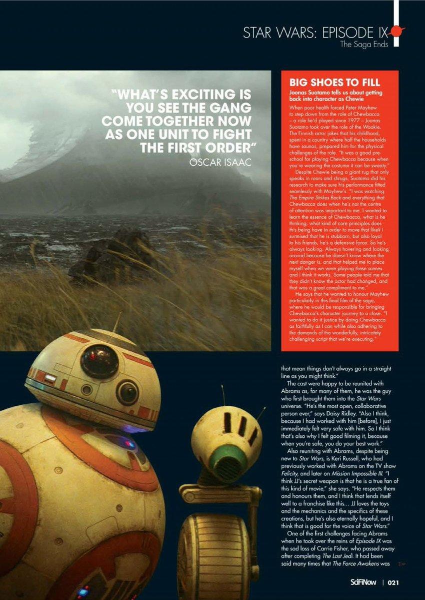Episode IX: The Rise of Skywalker Press Tour & Interviews - Page 11 Eju6o512