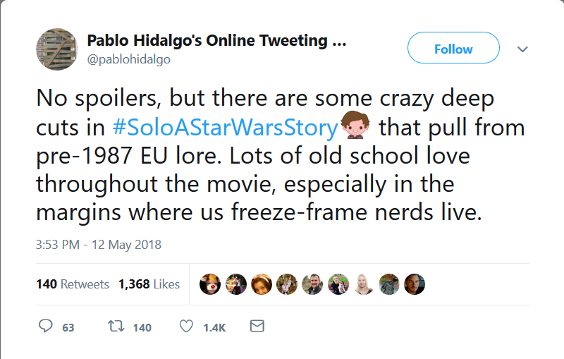 Solo: A Star Wars Story [NO SPOILERS ALLOWED] - Page 36 Scree125