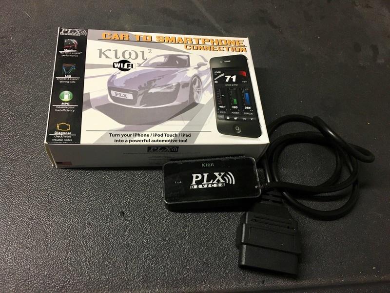 Interfaccia PLX Kiwi 2 Wifi per iPhone Diagnosi OBD2 S-l16011