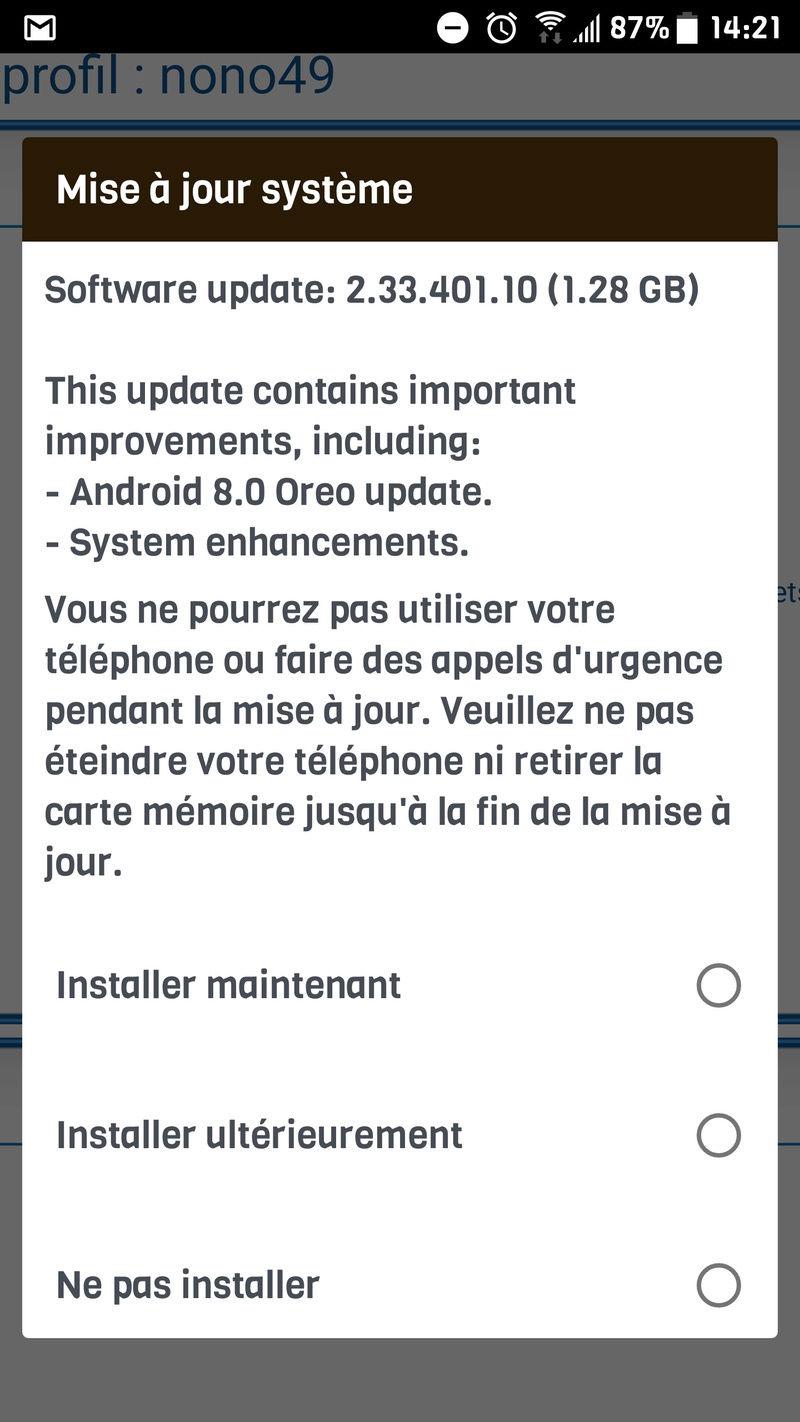 [Discussions/info] Les mises à jour du HTC U11 - Page 4 Screen11
