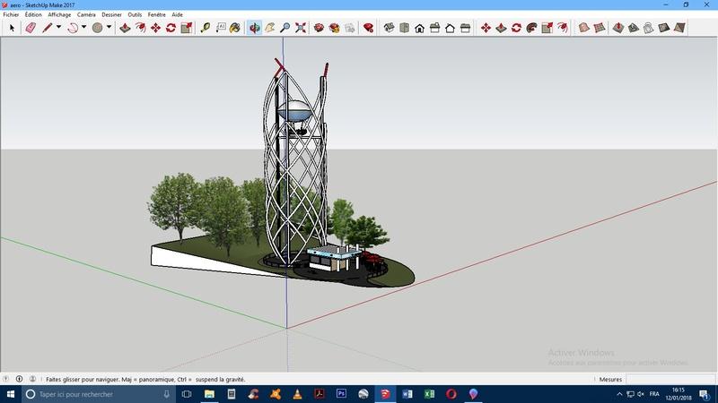 """Maquette"" 3D Aeroba11"