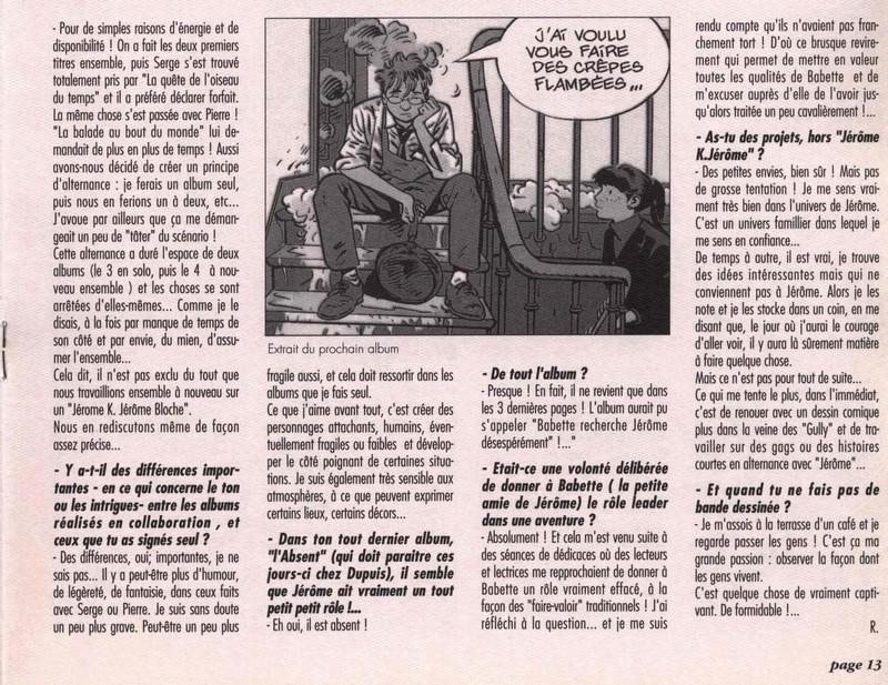 Jérôme K Jérôme Bloche DODIER - Page 2 001310