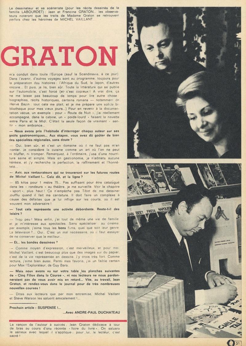 Jean Graton ou la noblesse de l'ouvrier - Page 13 1969-219