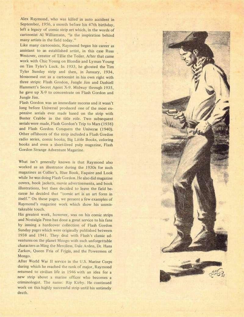 Alex RAYMOND et ses personnages - Page 8 Captai10
