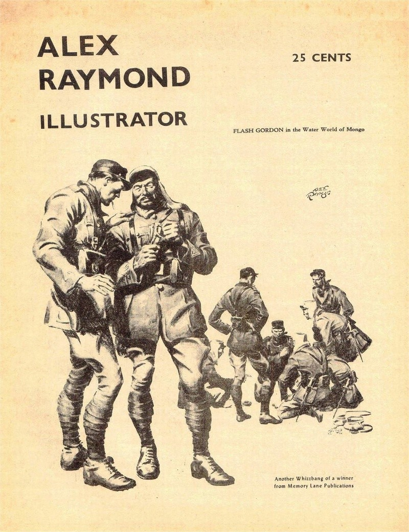 Alex RAYMOND et ses personnages - Page 8 Captai11