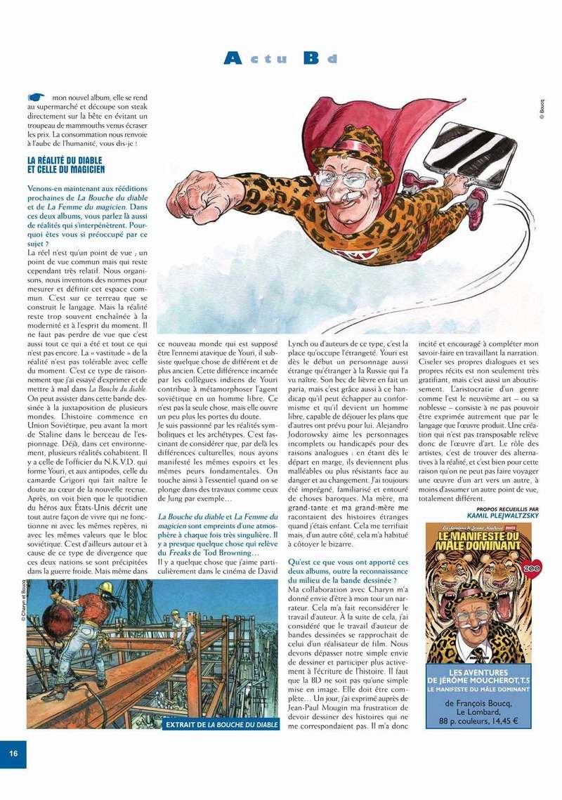 Francois Boucq, un style oscillant entre réalisme cru et humour absurde - Page 3 Zoo_4311