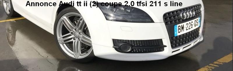 Audi TT 2.0L. TFSI  211CV  S-Line Quattro Sans_t14