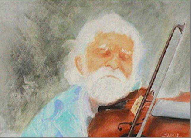 Vieux tzigane au violon  Captur13
