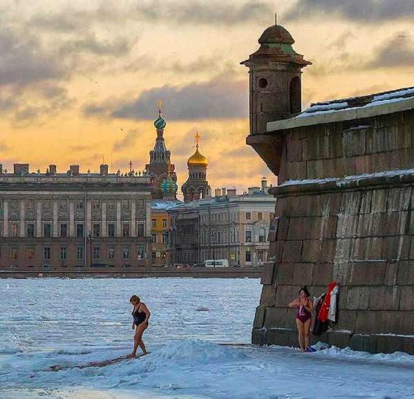 La plage en Russie (photo internet) Captur25