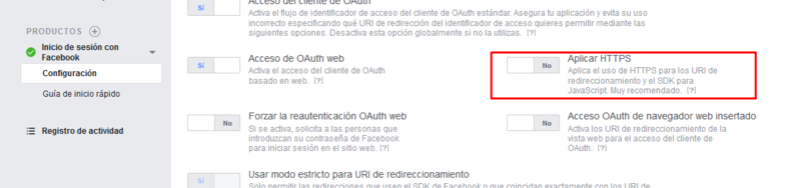 Actualizacion de la API de Facebook Screen17