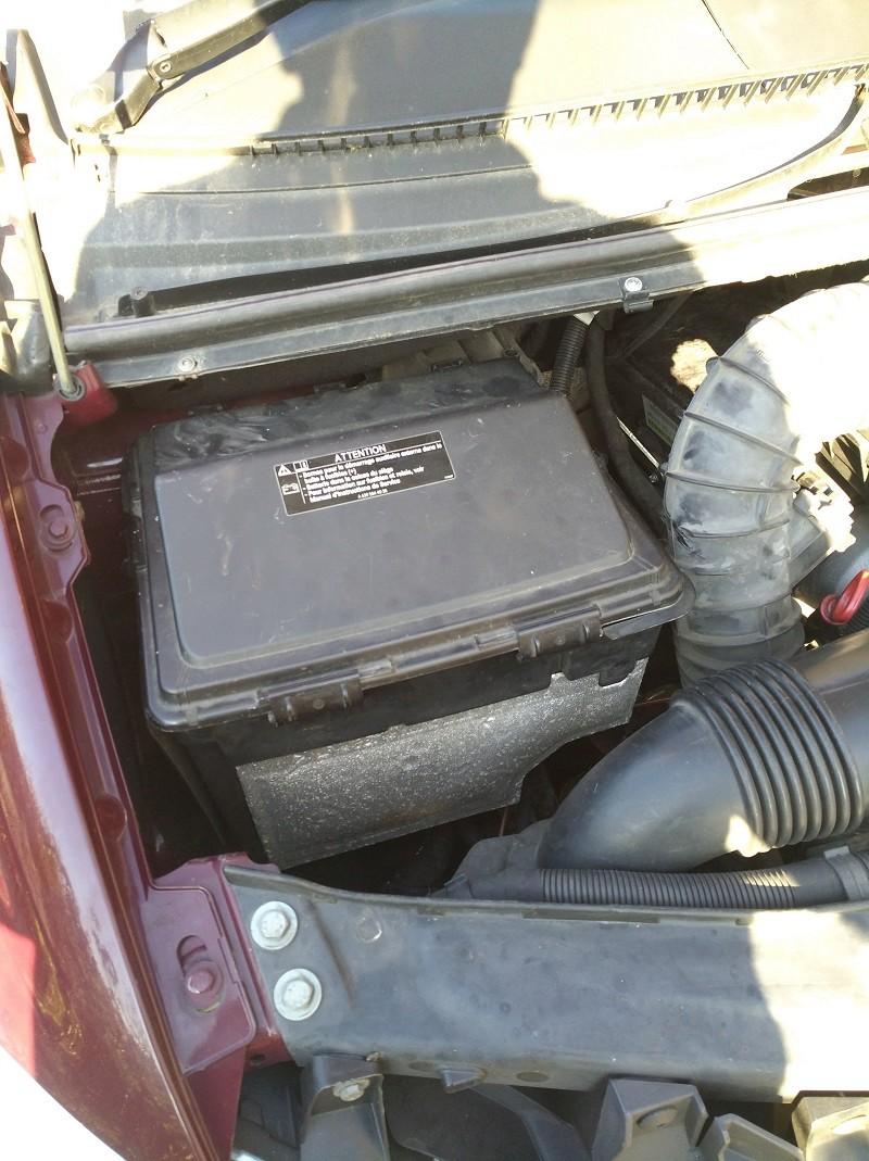 Démarrage moteur sur batterie aux ... 310