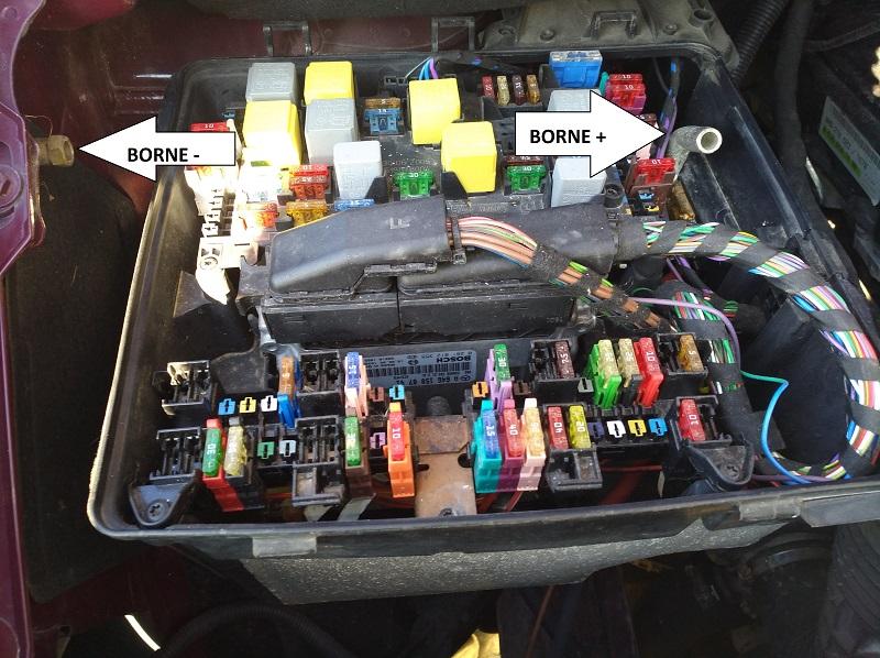Démarrage moteur sur batterie aux ... 410